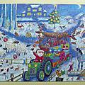 木拼Wentworth<Farmyard at Christmas>(250pcs)