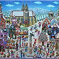 韓拼Chamberart<Snow Town>(1000pcs)