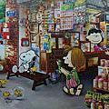 雷諾瓦<史努比-懷舊雜貨店>(1008pcs)