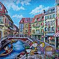 雷諾瓦<史努比-悠遊威尼斯>(1008pcs)