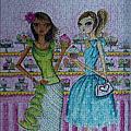 Ravensburger<Bella Pilar Girls>(500pcs)