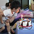 寶貝兒子的三歲生日~妹妹也一起喔