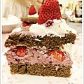 京都紅茶莓果慕思草莓蛋糕』&草莓奶酪