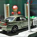 NISSAN Skyline GT-R R34 Nur by Tomica Premium