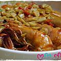 蒜香辣味蝦