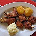 cuy 秘魯天竺鼠餐