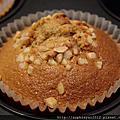 桂圓核桃和蔓越莓小蛋糕&鮮奶吐司