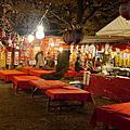 平野神社夜櫻