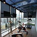 國內旅遊●嘉義市桃城茶樣子:遊戲室及健身房