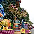 國外旅遊●香港迪士尼樂園:迪士尼飛天巡遊