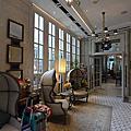 國外旅遊●香港中環.石板街酒店:大廳+公共空間