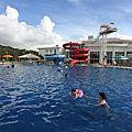 國外旅遊●日本沖縄県シェラトン沖縄サンマリーナリゾート:屋外ガーデンプール&ザ・トルネード
