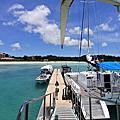 國外旅遊●日本沖縄県ブセナ海中公園:ガラス底ボート