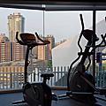 國內旅遊●台中市台中大毅老爺行旅:大廳+健身房