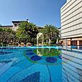 國內旅遊●台北市台北文華東方酒店:泳池