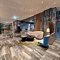 國內旅遊●台北縣板橋市新板傑仕堡有氧酒店:大廳