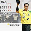 2009兄弟象桌曆