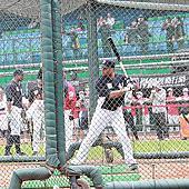 MLB明星隊訪台賽 新莊球場熱身