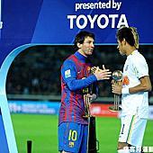 2011世俱盃決賽 西班牙巴塞隆納vs巴西桑托斯