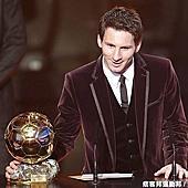 2011國際足總年度頒獎大典 梅西蟬聯FIFA金球創紀錄