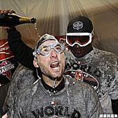 巨人隊奪下世界大賽冠軍
