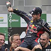 2012 F1賽事巴西站 Vettel 年度冠軍三連霸達成!