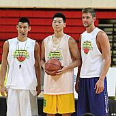 2013林書豪籃球訓練營結訓日