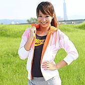 活力女孩呂佳宜假日單車行