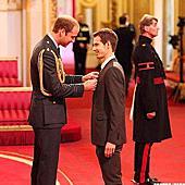 Andy Murray接受大英帝國勳章表揚
