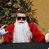 叮叮噹!運動明星化身聖誕老人