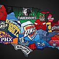 各州NBA球星夢幻陣容TOP10