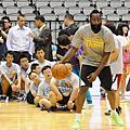 火箭球員出席NBA關懷活動