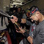 波士頓紅襪隊的冠軍慶祝瞬間!