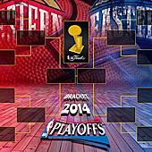 2013-14年季後賽首輪精彩圖集