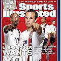 《運動畫刊》世界盃封面