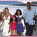 Kobe與家人去希臘度假