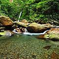 20110612南澳鹿皮溪金岳瀑布溯溪