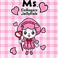 LINE個人主題-水母妹(クリエイターズ着せかえ-Ms. Collagen Jellyfish)
