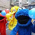 芝蔴街在世博全省巡迴宣傳-新莊中正分校