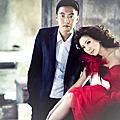 【台南婚紗攝影】莎士比亞 --俊逸&思筠