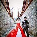 莎士比亞婚紗照;台南婚紗店 --金門