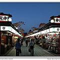 2013.10.07 日本東京.秋Day5.晚上的淺草雷門-仲見世