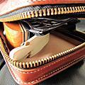 義大利佛羅倫斯植鞣皮革手工縫製弓箭套 Leather case for Archery equipments( Bow case )