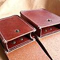 義大利特級貝里牛皮革手工縫製腰包