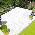 ★明星牌塗料工程照片★花蓮縣屋頂鐵皮浪板粉刷工程