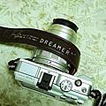 禮物|Iconic Dreamer 皮質相機背帶 開箱