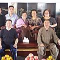 溫州中普陀寺拜訪芳振大師茶會