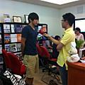 中視採訪YEC。2012/6/5