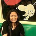 20140502高雄捷運史努比歡樂列車好可愛