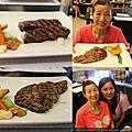 20151009幫媽媽補生日大餐炫牛碳烤牛排館
